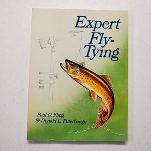 Expert Fly-Tying vintage book